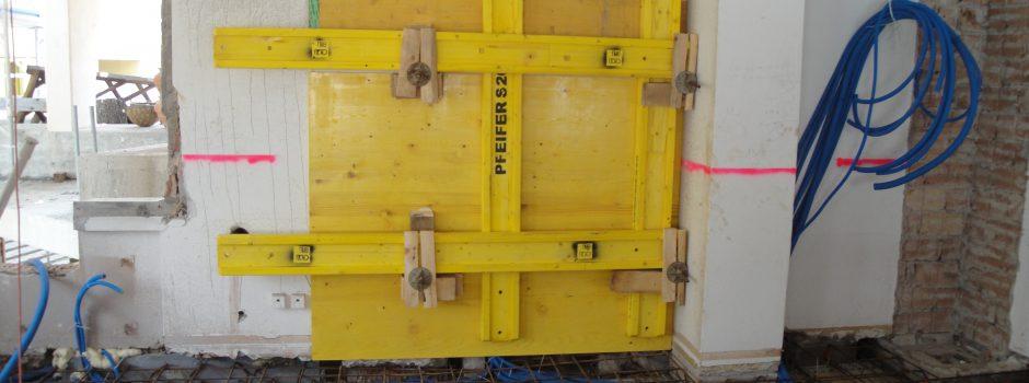 Raiffeisen Umbau/Innen Verschalen 2012