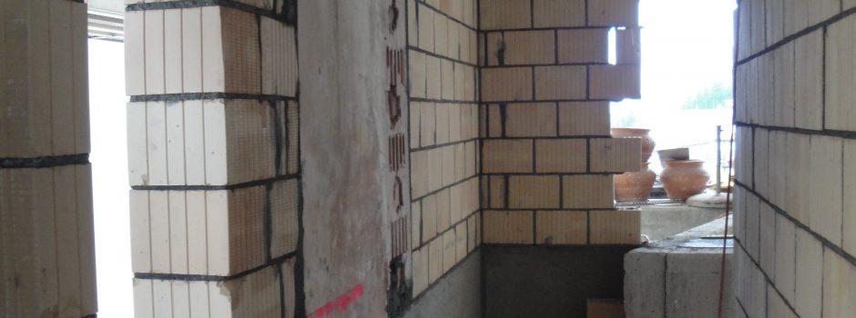 Raiffeisen Umbau/Innen Mauer 2012