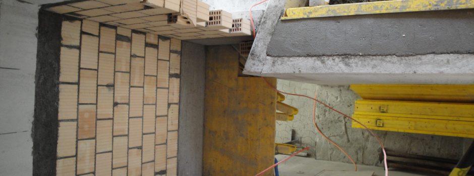 Raiffeisen Umbau/Aussen Mauern 2012