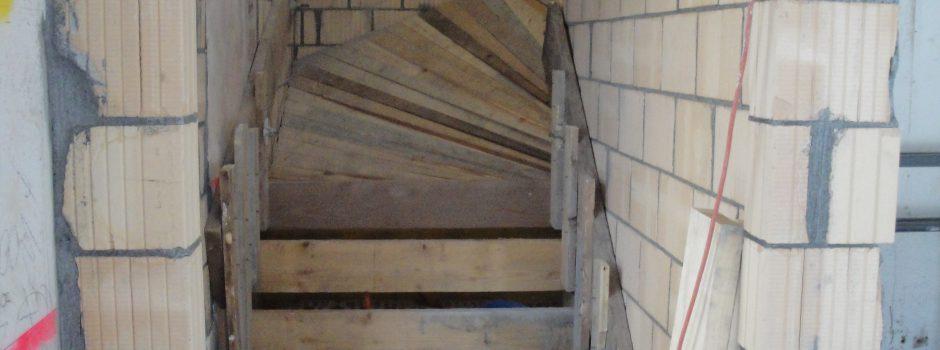 Raiffeisen Umbau/Innen Treppe 2012