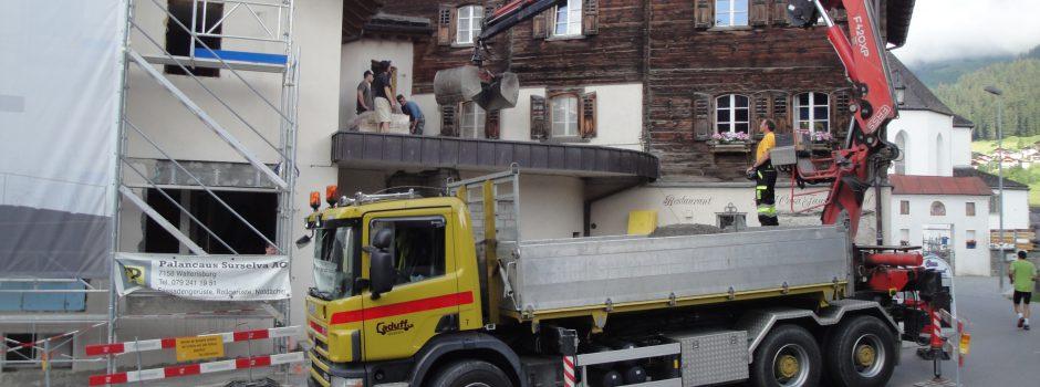 Raiffeisen Umbau/Betonieren Caduff SA 2012